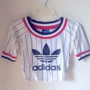 Adidas crop t-shirt